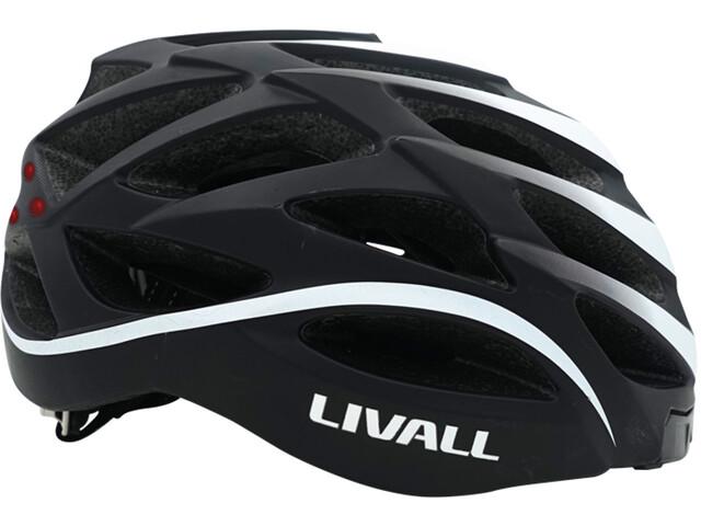 LIVALL BH62 Fietshelm incl. BR80, black/white